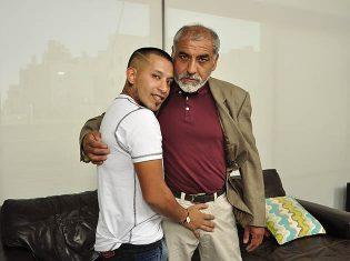 Turkish daddy and boy